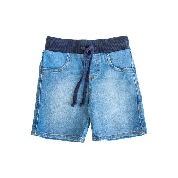 bermuda jeans infantil masculina azul lbm j008 stone 1