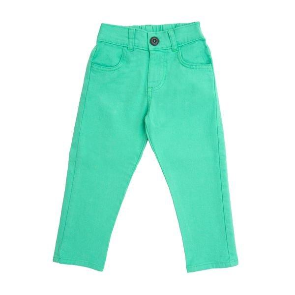 calca sarja infantil menino verde lbm s003 1