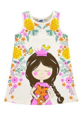 vestido infantil feminino princess offwhite marlan 62465