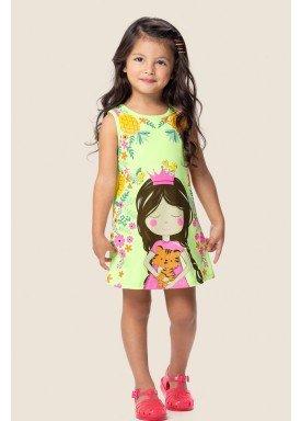 vestido infantil feminino princess verde marlan 62465 1