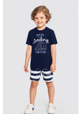 conjunto infantil masculino sailing marinho alakazoo 46848 1