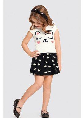 conjunto infantil feminino cat preto alakazoo 47215 1