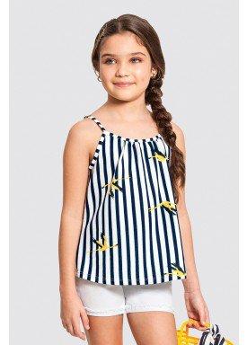 blusa infantil feminina flamingos marinho alakazoo 47262 1