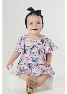 vestido bebe feminino island rosa upbaby 42865 1
