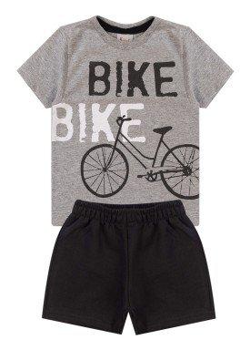 conjunto infantil masculino bike mescla kiiwi kids 1
