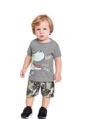 conjunto bebe masculino little dino mescla fakini forfun 3150 1