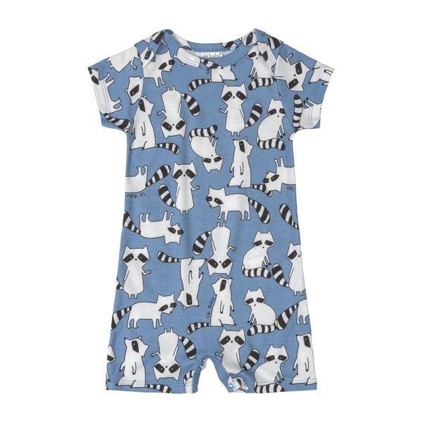 macaquinho bebe masculino guaxinim azul upbaby 42952