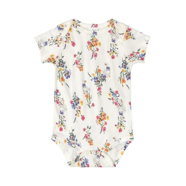 body bebe feminino flores natural upbaby 42938