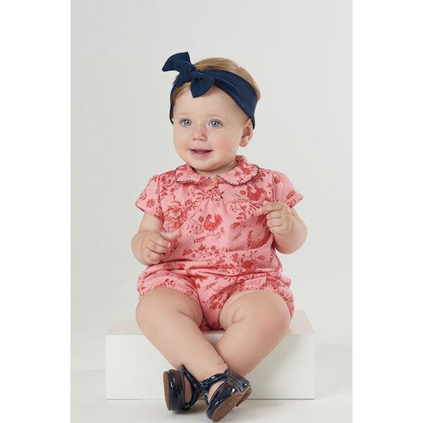 macaquinho bebe feminino estampado rosa upbaby 42970 1
