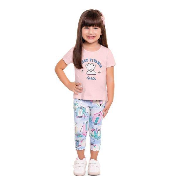 conjunto infantil feminino vitamin rosa fakini 3027 1