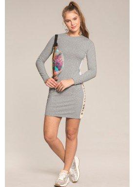 vestido manga longa juvenil feminino perfect one mescla lunender hits 67594 1
