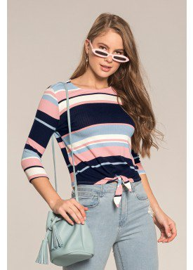 blusa manga longa juvenil feminina listras marinho lunender hits 67602 1
