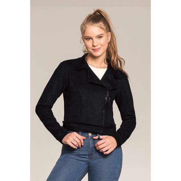 jaqueta camurca juvenil feminino preto lunender hits 67578 1