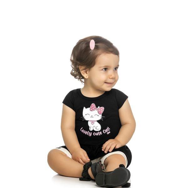 conjunto bebe feminino cute cat preto elian 211065 1