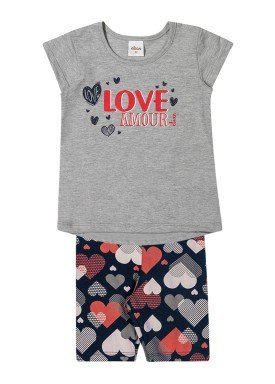 conjunto infantil feminino love mescla elian 231380 1