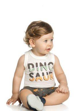 conjunto bebe masculino dinosaur natural elian 20878 1