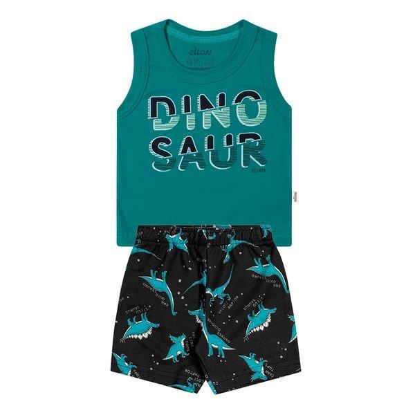 conjunto bebe masculino dinosaur verde elian 20878 1