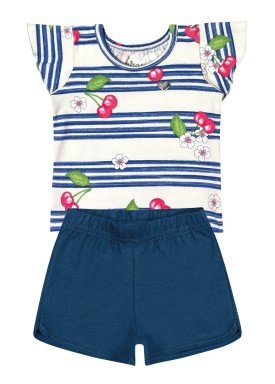 conjunto bebe feminino cherries natural elian 211082 1