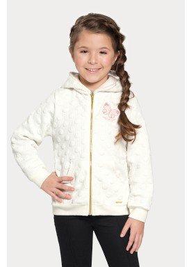 jaqueta matelasse infantil juvenil feminina offwhite alakazoo 67547 1