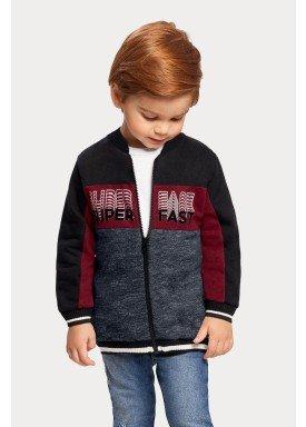 jaqueta moletom infantil masculina super fast preto alakazoo 67395 1