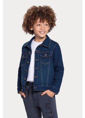 jaqueta jeans infantil juvenil masculina alakazoo 67251 1