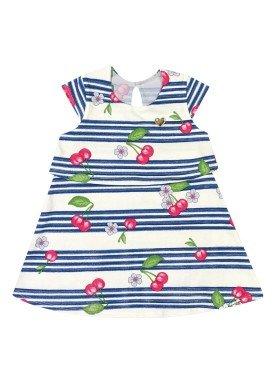vestido bebe feminino cherries natural elian 211068