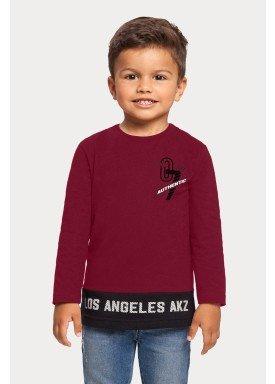 camiseta manga longa infantil masculina los angeles bordo alakazoo 67394 1