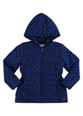 jaqueta infantil feminina marinho alakazoo 65771