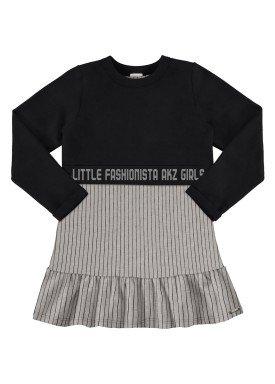 vestido infantil feminino fashionista mescla alakazoo 67520