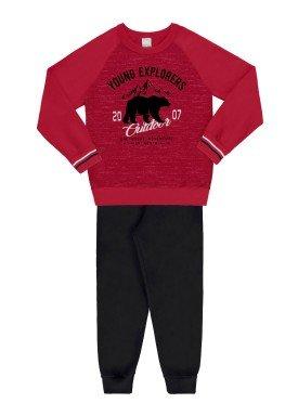 conjunto moletom infantil juvenil masculino explorers vermelho 67428 1