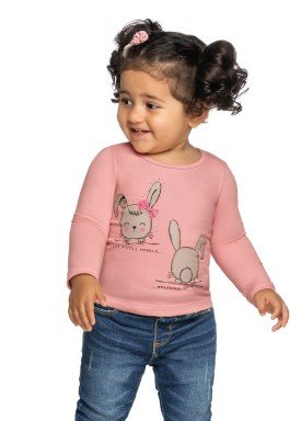 blusa manga longa bebe feminina bunnies rosa elian 211120 1
