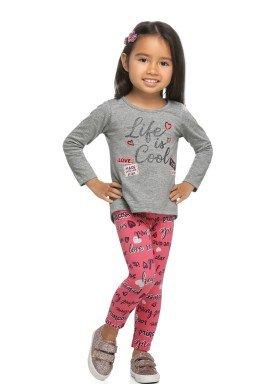 conjunto manga longa infantil feminino cool mescla elian 231457 1