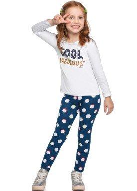 conjunto manga longa infantil feminino fabulous branco elian 251417 1
