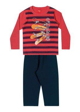 conjunto manga longa infantil masculino sk8 vermelho elian 221123 1