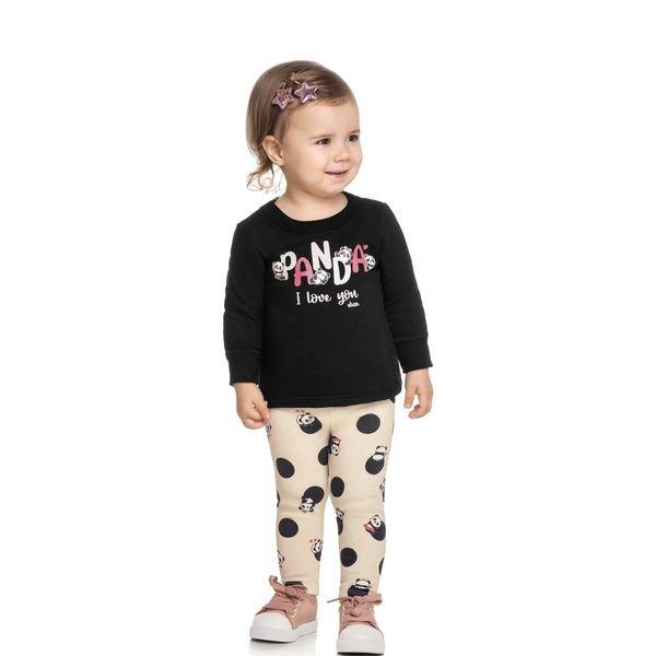 conjunto moletom bebe feminino pandas preto elian 211126 1