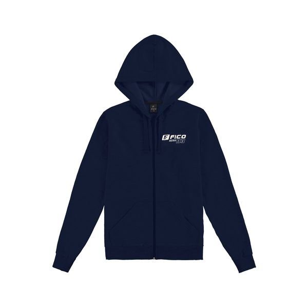 jaqueta moletom juvenil masculina marinho fico 68428