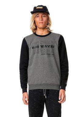 blusao moletom juvenil masculino big wave preto fico 68436 1