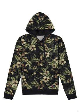blusao moletom juvenil masculino estampado verde fico 68440
