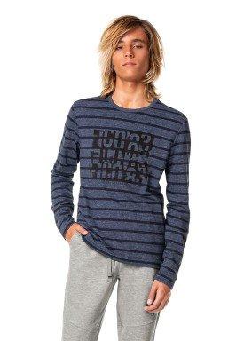 camiseta manga longa juvenil masculina true attitude marinho fico 68432 1