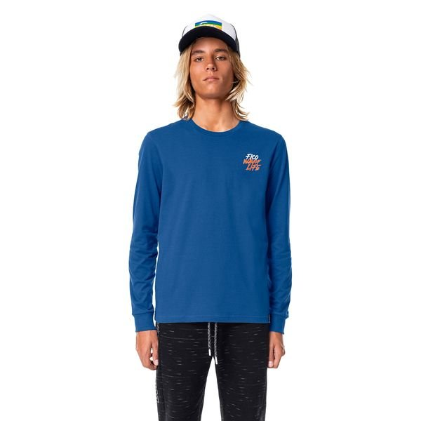 camiseta manga longa juvenil masculina lifestyle azul fico 68434 1