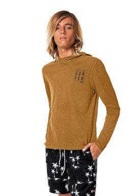 camiseta manga longa capuz juvenil masculina surfer bege fico 68450 1