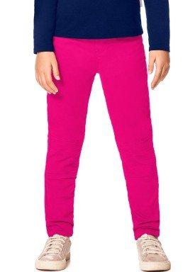 calca sarja infantil juvenil feminina pink alakazoo 67090 2
