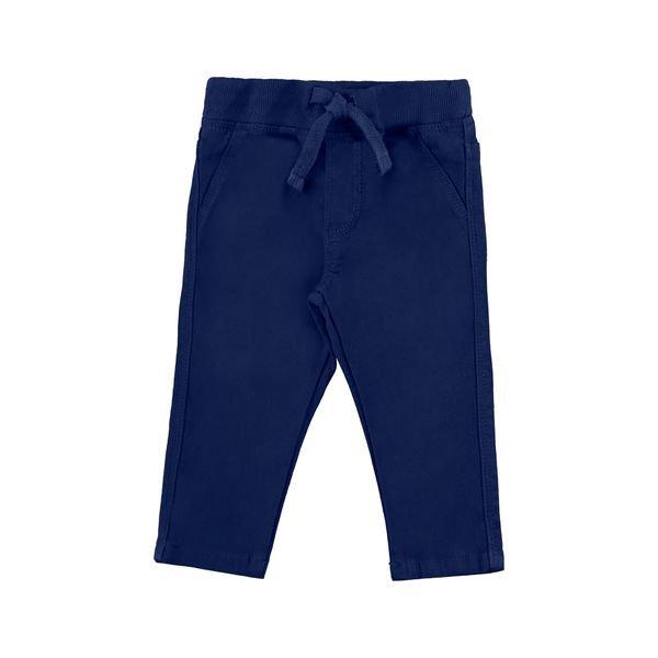 calca sarja bebe masculina marinho alakazoo 67093