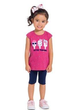 conjunto infantil feminino better together rosa brandili 34288 1
