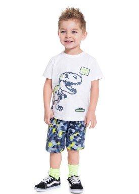 conjunto infantil masculino dino branco brandili 34256 1
