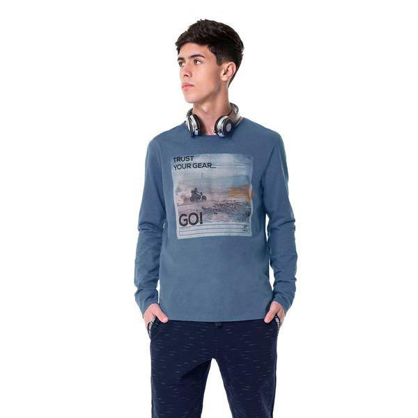 camiseta manga longa juvenil masculina trust azul hangar33 70358 1