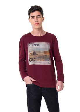 camiseta manga longa juvenil masculina trust bordo hangar33 70358 1
