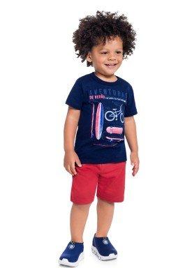 conjunto infantil masculino aventuras marinho brandili 34603 1