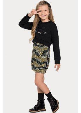 conjunto vestido blusao infantil feminino chic verde alakazoo 67524 1