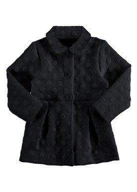 casaco matelasse infantil feminino preto alakazoo 67476 1